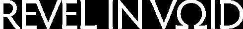 Revel in Void - Logo
