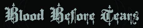 Blood Before Tears - Logo