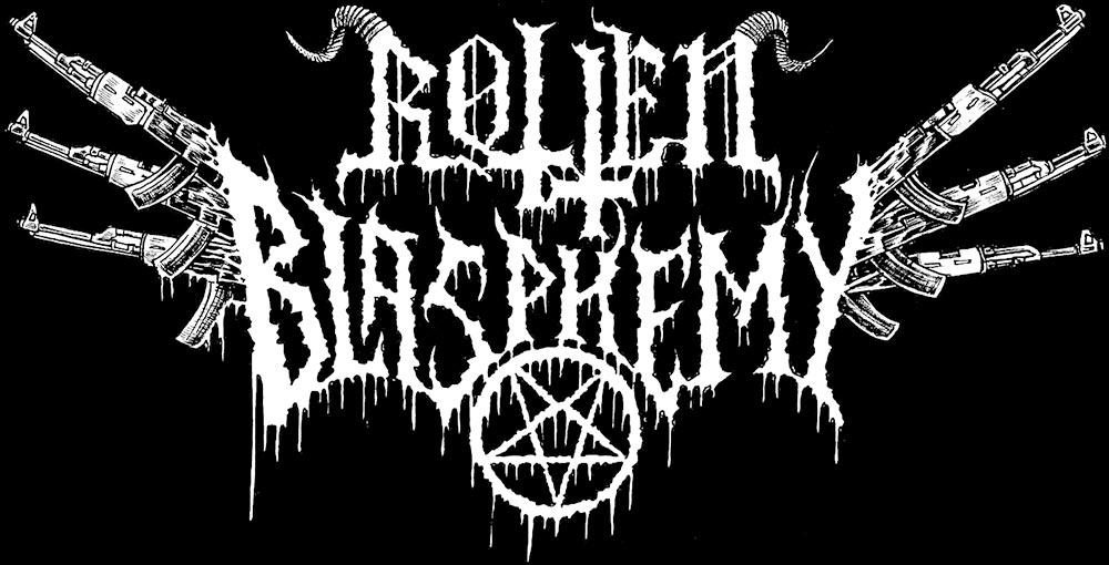 Rotten Blasphemy - Logo