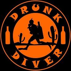 Drunk Diver - Logo