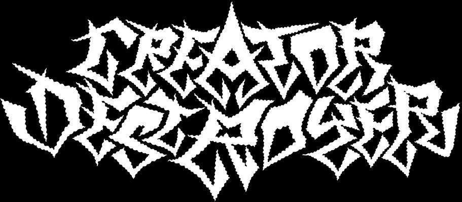 Creator|Destroyer - Logo