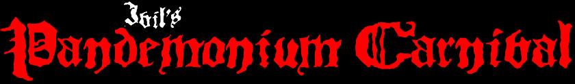 Ivil's Pandemonium Carnival - Logo