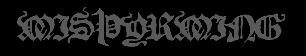 Misþyrming - Logo