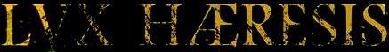 Lvx Hæresis - Logo