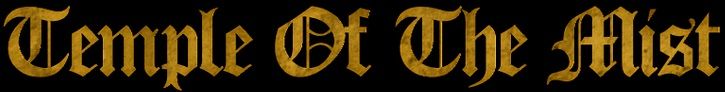Temple of the Mist - Logo