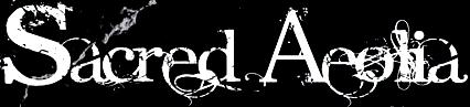 Sacred Aeolia - Logo