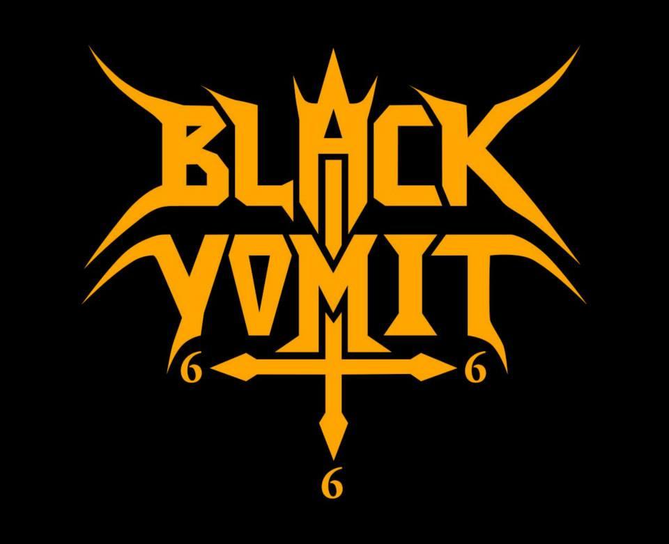 Black Vomit 666 - Logo