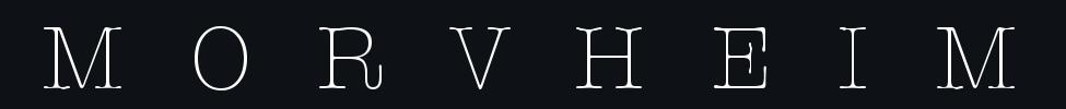 Morvheim - Logo
