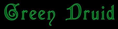 Green Druid - Logo