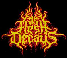 As Flesh Decays - Logo