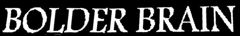 Bolder Brain - Logo