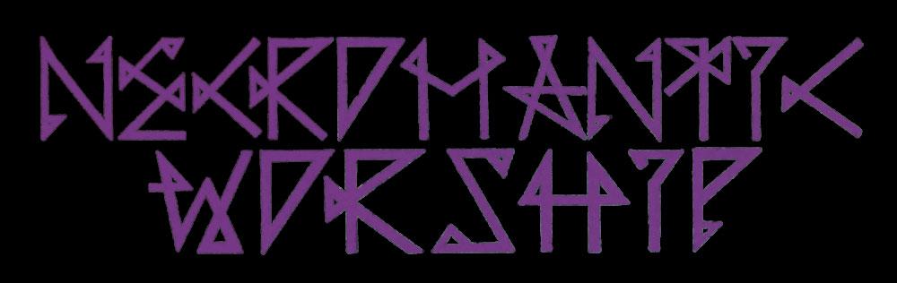 Necromantic Worship - Logo