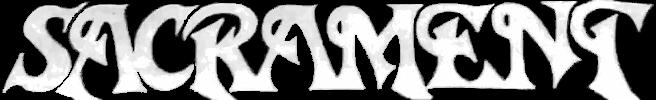 Sacrament - Logo