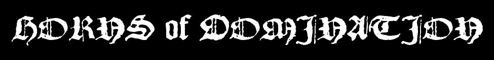 Horns of Domination - Logo