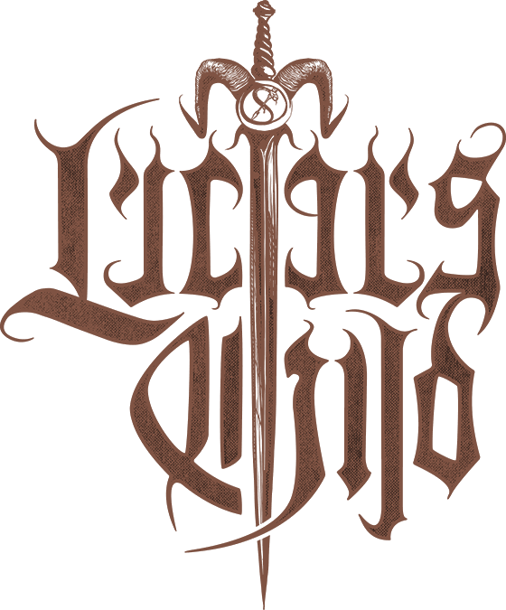 Lucifer's Child - Logo