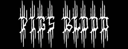 Pig's Blood - Logo