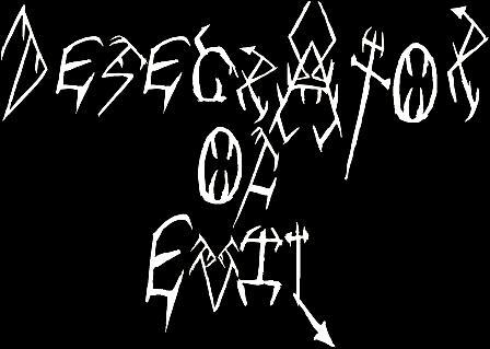 Desecrator of Evil - Logo