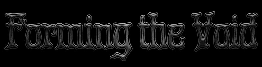 Forming the Void - Logo