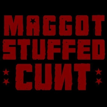 Maggot Stuffed Cunt - Logo