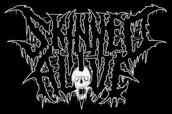 Skinned Alive - Logo