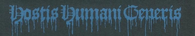 Hostis Humani Generis - Logo