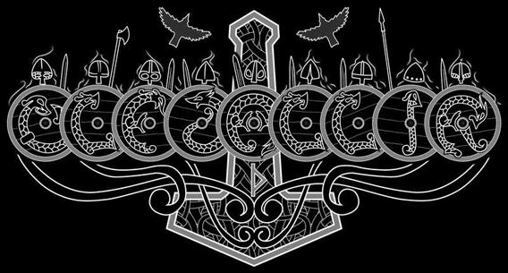 Ulfdallir - Logo