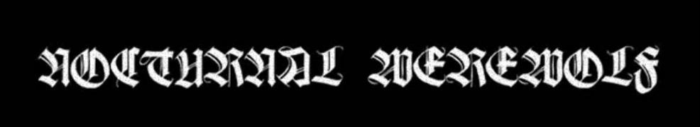 Nocturnal Werewolf - Logo