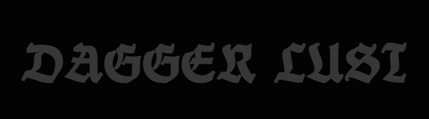 Dagger Lust - Logo