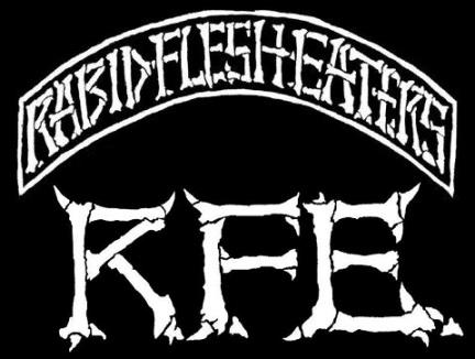 Rabid Flesh Eaters - Logo