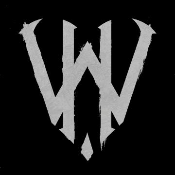 With Heavy Hearts - Logo