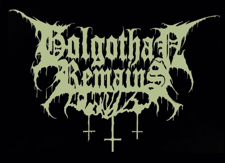 Golgothan Remains - Logo