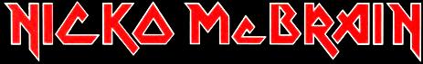 Nicko McBrain - Logo