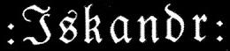 Iskandr - Logo