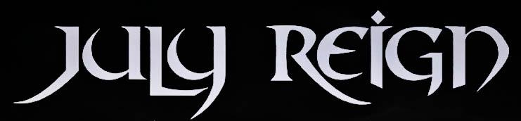 Sheldon Scrivner's July Reign - Logo