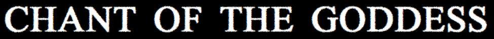 Chant of the Goddess - Logo