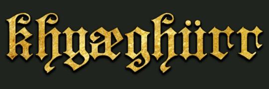 Khyæghürr - Logo