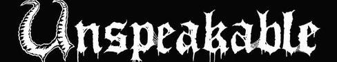 Unspeakable - Logo
