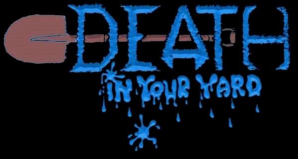 Death in Your Yard - Logo