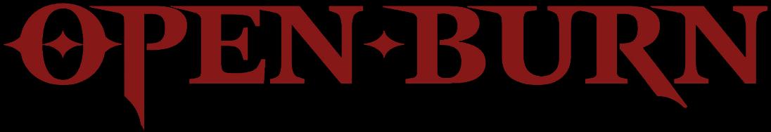 Open Burn - Logo