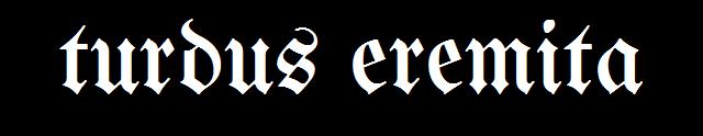 Turdus Eremita - Logo