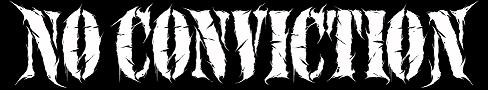 No Conviction - Logo