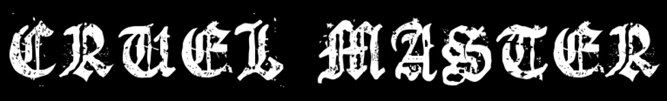 Cruel Master - Logo