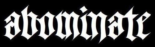 Abominate - Logo