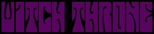 Witch Throne - Logo