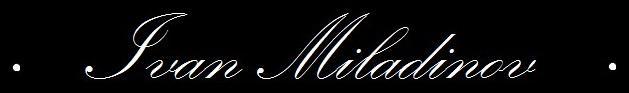 Ivan Miladinov - Logo