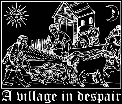 A Village in Despair - Logo