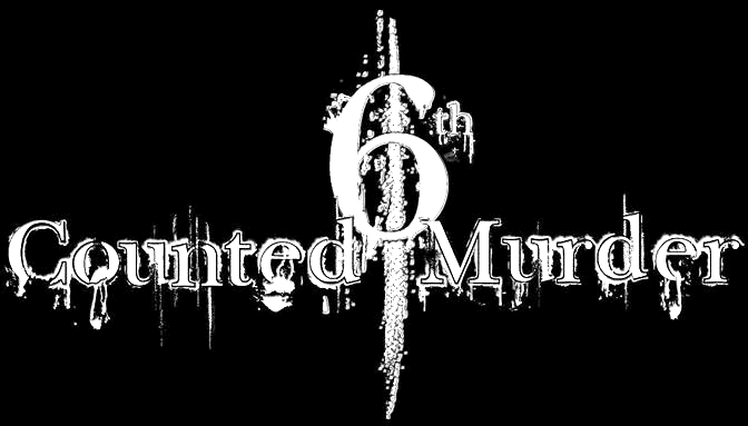 6th Counted Murder - Logo