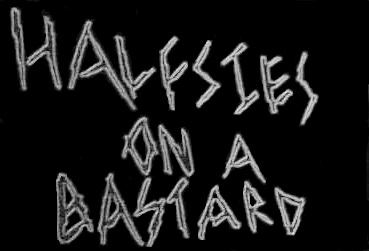 Halfsies on a Bastard - Logo