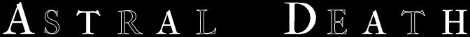 Astral Death - Logo