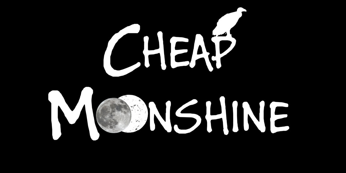 Cheap Moonshine - Logo